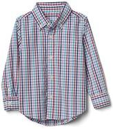 Gap Gingham long sleeve shirt
