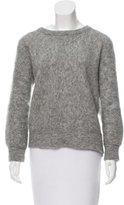 By Malene Birger Wool & Mohair-Blend Crew Neck Sweater