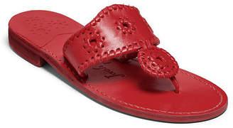 Jack Rogers Natural Jacks Flat Sandals