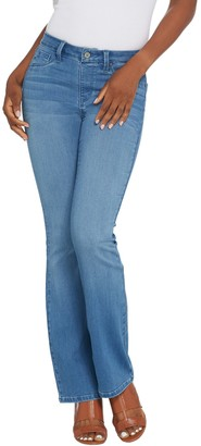 Laurie Felt Tall Silky Denim Boot Cut Pull-On Jeans