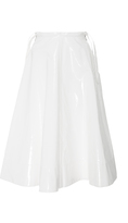 Jill Stuart Mini Vinyl Knee Length Skirt