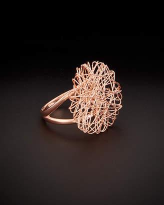 Meshmerise 14K Italian Rose Gold Wire Ring