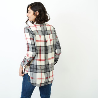 Roots Smoke Lake Plaid Tunic