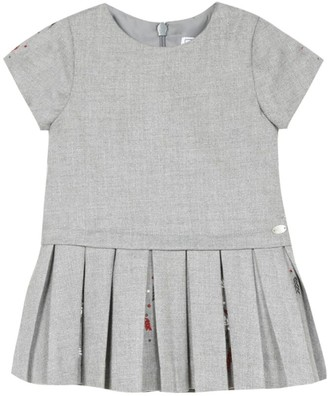 Tartine et Chocolat Embroidered Pleated Dress (3-36 Months)