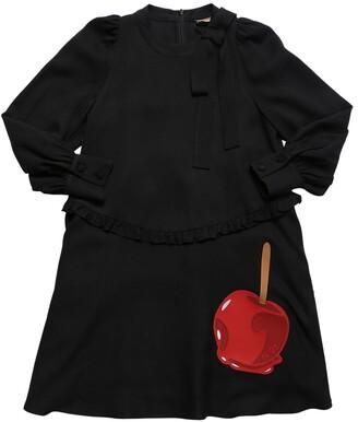 N°21 Cherry Patch Viscose Dress