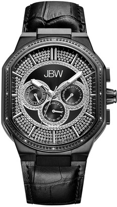 JBW Men's Orion Diamond & Crystal Watch