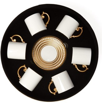 L'OBJET Lobjet - Perlee 24kt Gold-plated Espresso Set - Gold