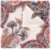 Etro Paisley print sequin embellished scarf
