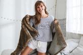 aerie Fleece Swing Sweatshirt