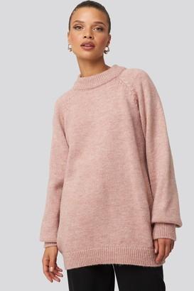 NA-KD Raglan Sleeve Knitted Sweater