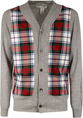 Comme des Garcons Check Buttoned Cardigan