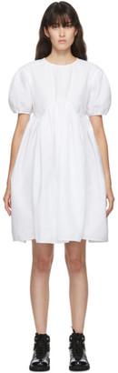 Cecilie Bahnsen White Thelma Dress