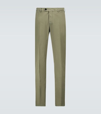 Brunello Cucinelli Italian-fit gabardine cotton pants