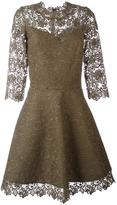Ermanno Scervino lace overlay flared dress