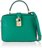 Dolce & Gabbana Rosaria Textured-leather Shoulder Bag - Green