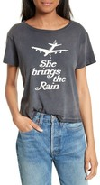 RE/DONE Women's She Brings The Rain Graphic Tee
