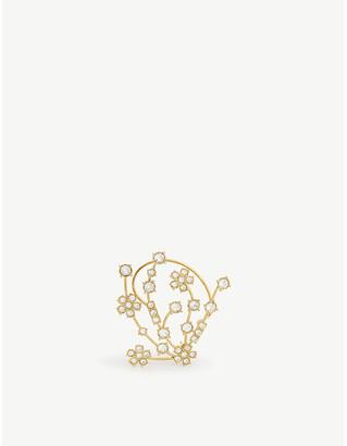 Selfridges Sterling silver Kismet earring