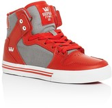 Supra Boys' Vaider High Top Sneakers