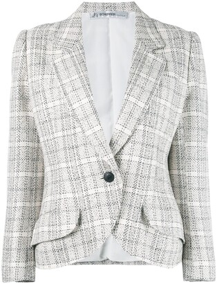 Jean Louis Scherrer Pre-Owned Checked Blazer
