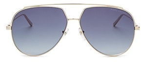 Marc Jacobs Women's Marc Brow Bar Aviator Sunglasses, 59mm