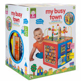 Alex Jr My Busytown Wooden Activity Cube Interactive Toy