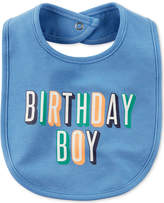 Carter's Birthday Boy Cotton Bib, Baby Boys