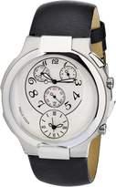 Philip Stein Teslar Women's 9-CRW3-CB Quartz Analog Dual Time Chronograph Beige Dial Watch