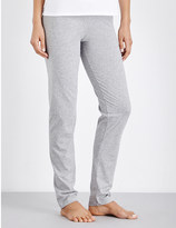 Moschino Branded jersey jogging bottoms