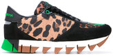 Dolce & Gabbana Capri trainers - women - Leather/Suede/Polyamide/rubber - 36