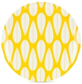 Dansk The Burbs Collection Melamine Sunflower Yellow Salad Plate