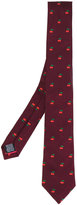 Paul Smith cherry embroidered tie - men - Silk - One Size
