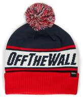 Topman VANS Red Bobble Beanie Hat