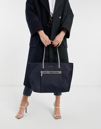 Fiorelli charlotte nylon tote bag in nautical