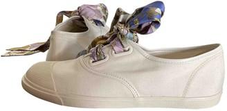 Zimmermann White Cloth Trainers