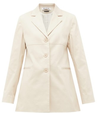 ÀCHEVAL PAMPA Borges Stretch-cotton Blazer - Womens - Beige