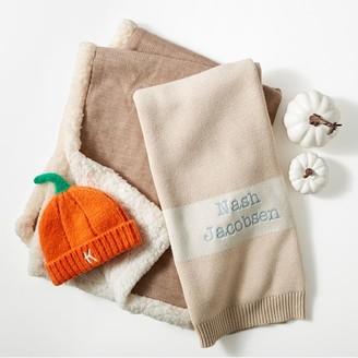 Mark And Graham Knit Pumpkin Baby Hat
