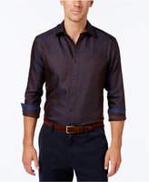Tasso Elba Men's Print Long-Sleeve Shirt, Created for Macy's