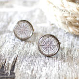 JuJu Treasures Vintage Compass Rose Cufflinks