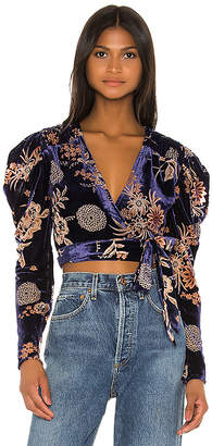 House Of Harlow x REVOLVE Indie Blouse