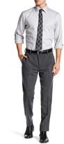 """Louis Raphael Solid Tweed Wool Blend Pant - 30-34\"""" Inseam"""