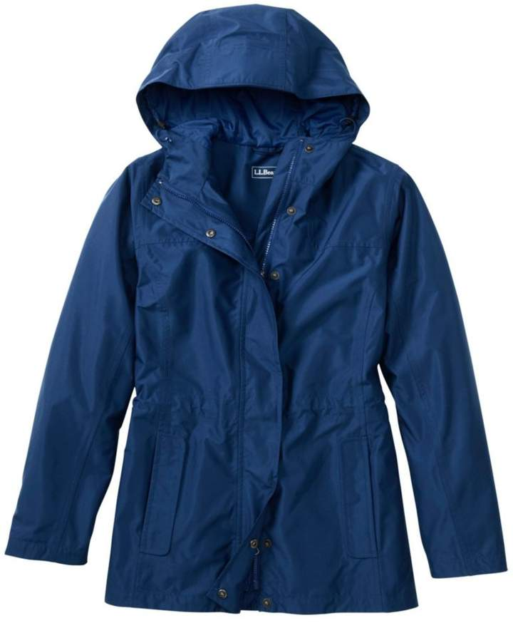 L.L.Bean Women`s H2OFF Rain Jacket- PrimaLoft-Lined