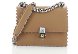 Fendi Kan I Bag Leather Small