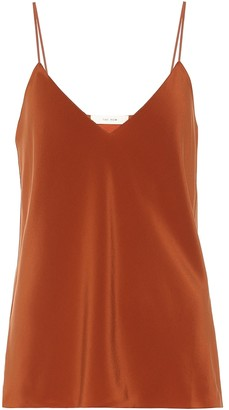 The Row Prima silk crepe camisole
