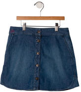 Little Marc Jacobs Girls' Denim Skirt w/ Tags