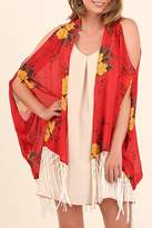 Umgee USA Open Shoulder Kimono