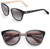 Bobbi Brown 53mm Rowan Bridge Cat-Eye Sunglasses