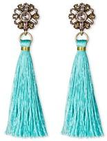 SUGARFIX by BaubleBar Tassel Drop Earrings - Turquoise