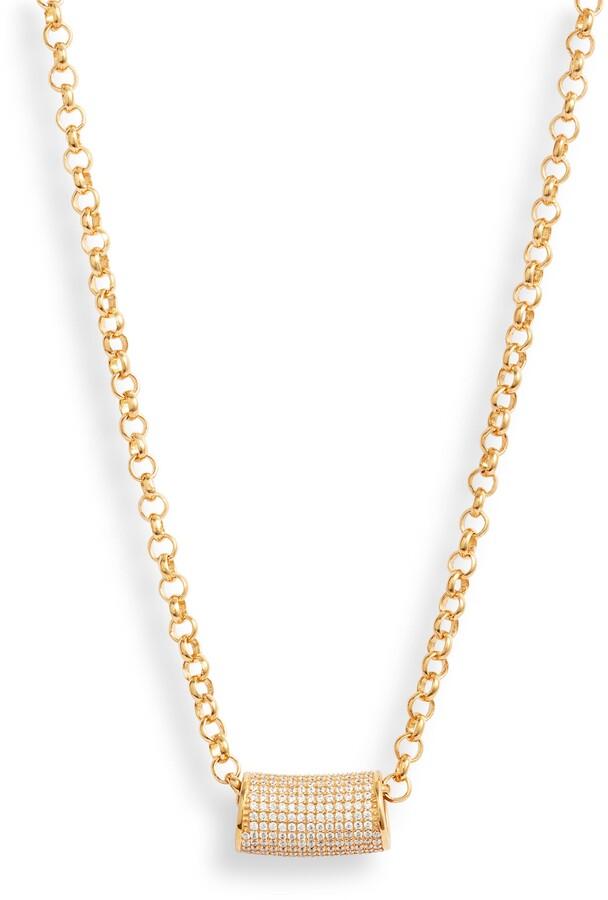 Dean Davidson Signature Tube Pendant Necklace