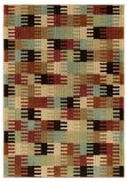 Orian Wichita Red Multi-color Rug
