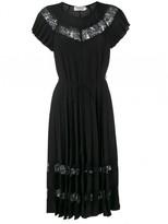 Zimmermann 'winsome' Sun Ray Lace Dress